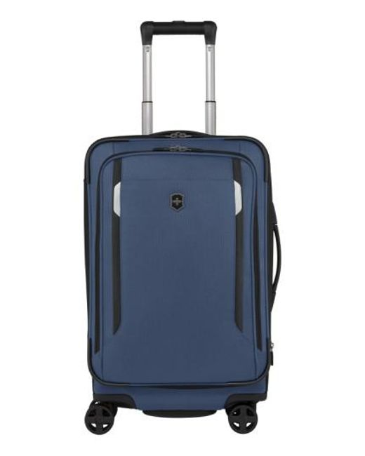 Victorinox | Blue Victorinox Swiss Army 'wt 5.0' Dual Caster Wheeled Carry-on for Men | Lyst