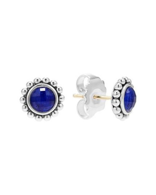 Lagos | Blue Maya Doublet Stud Earrings | Lyst