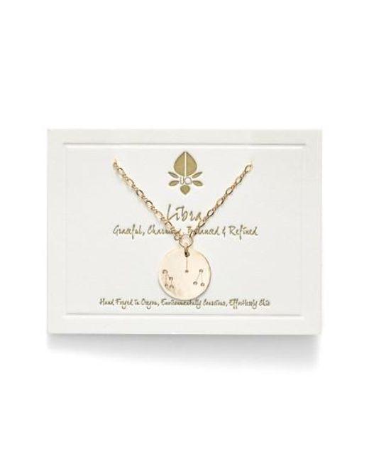 Nashelle | Metallic Ija 'large Zodiac' 14k-gold Fill Necklace | Lyst