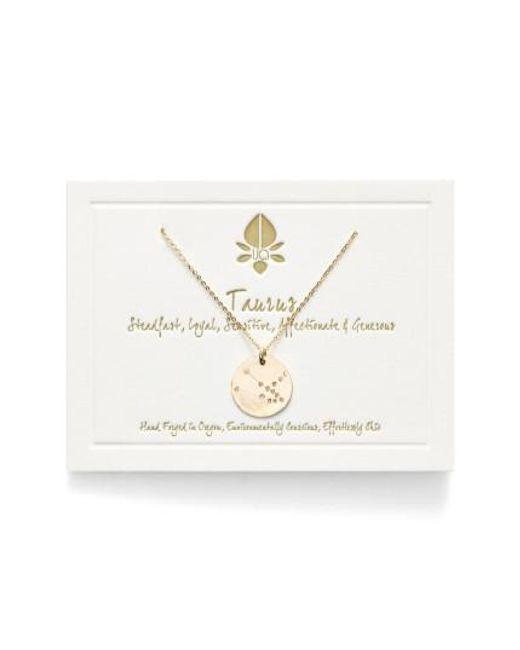 Nashelle   Metallic Ija 'small Zodiac' 14k-gold Fill Necklace   Lyst