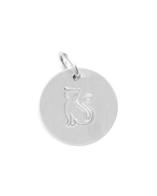 Nashelle | Metallic Cat Stamp Charm | Lyst