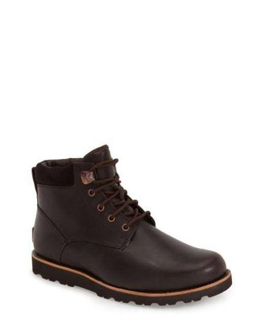 Ugg | Brown Ugg Seton Waterproof Chukka Boot for Men | Lyst