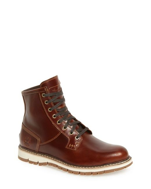 Timberland | Brown 'britton Hill' Waterproof Boot for Men | Lyst