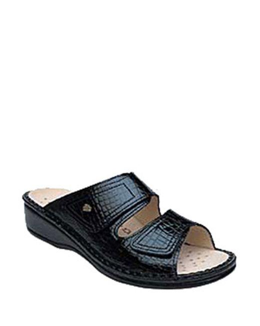 Finn Comfort | Black 'jamaica' Sandal | Lyst