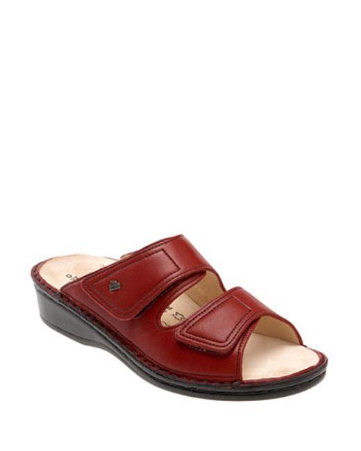 Finn Comfort | Purple 'jamaica' Sandal | Lyst