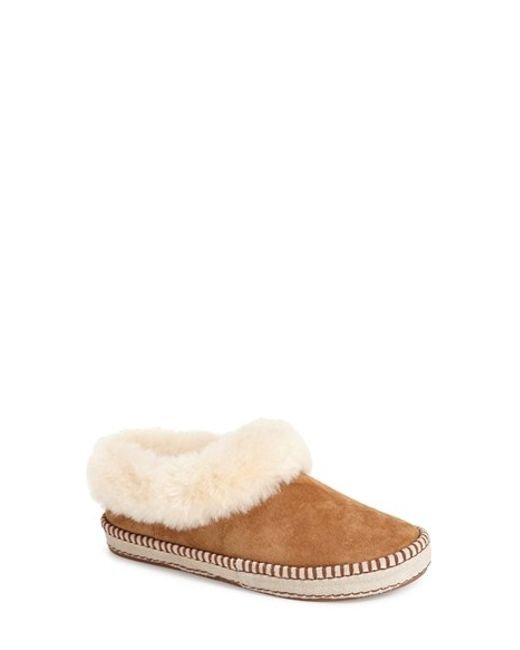 Ugg | Brown 'wrin' Slipper | Lyst