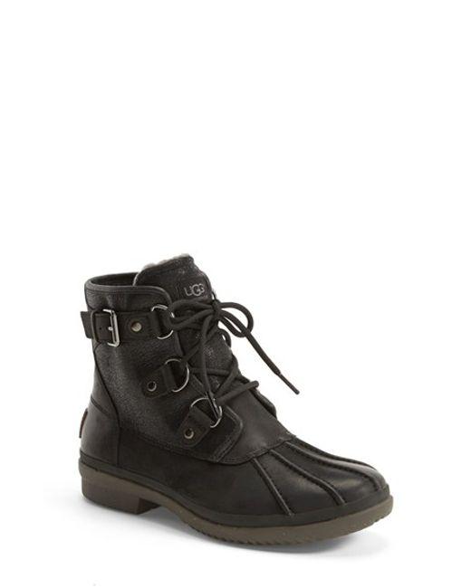 UGG | Black Ugg Cecile Waterproof Boot | Lyst