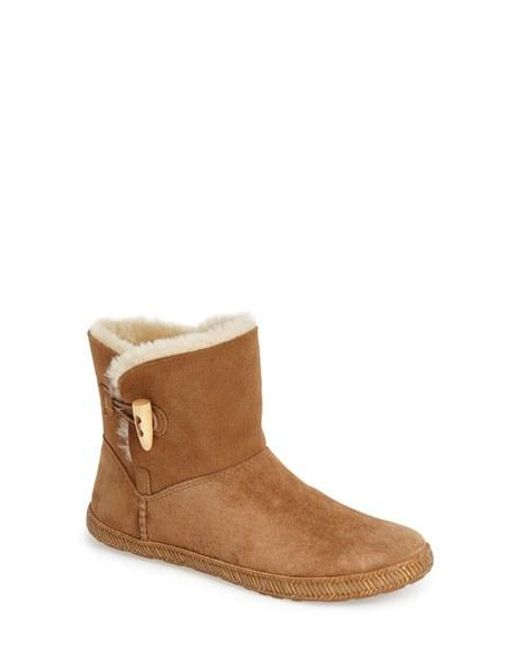 Ugg | Brown Ugg 'garnet' Toggle Boot | Lyst