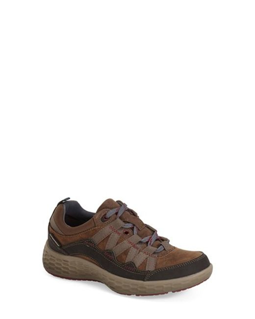 Cobb Hill | Brown 'freshexcel' Waterproof Sneaker | Lyst