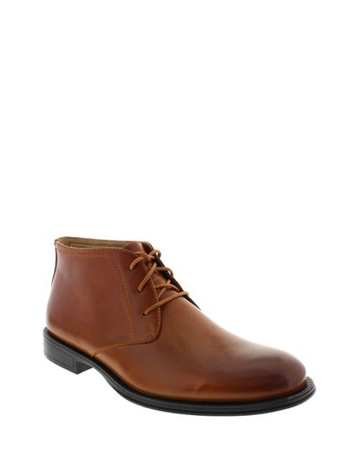 Deer Stags | Brown 'mean' Leather Chukka Boot for Men | Lyst