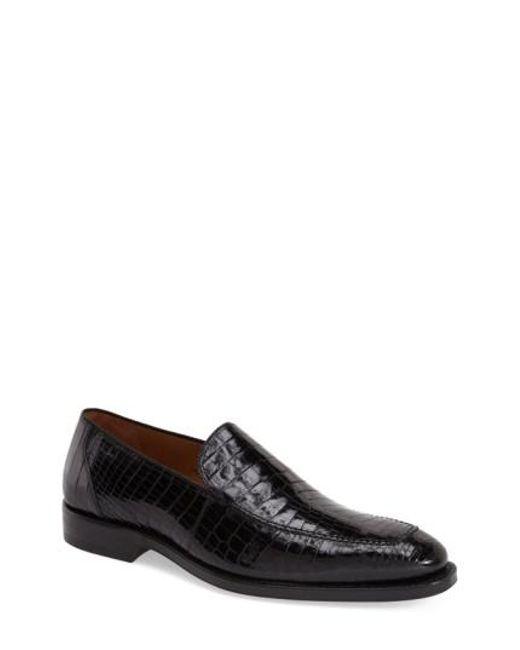 Mezlan   Black 'budapest' Loafer for Men   Lyst