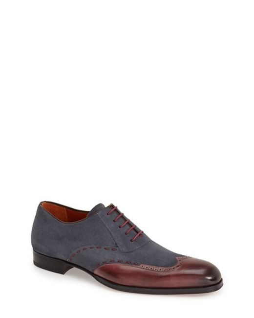 Mezlan | Purple 'ronda' Spectator Shoe for Men | Lyst