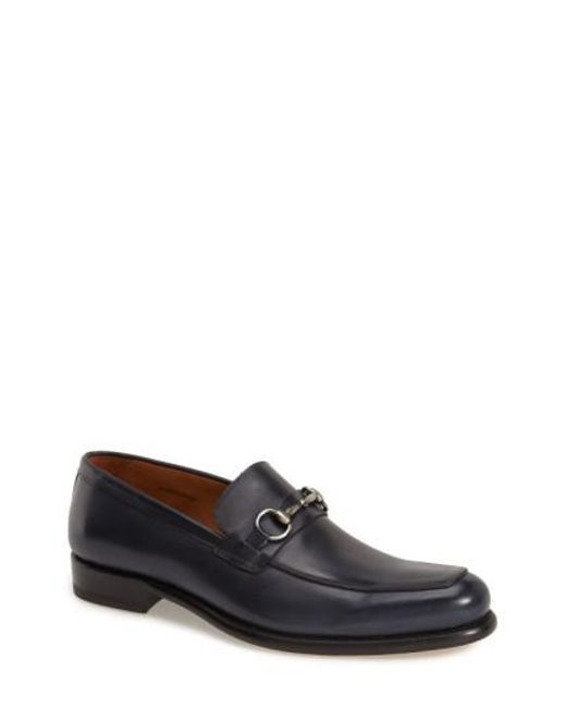 Mezlan | Blue 'worcester' Bit Loafer for Men | Lyst