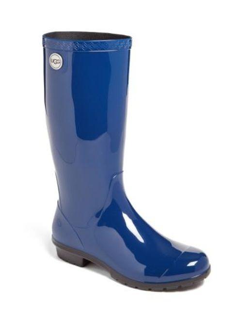 Ugg | Gray Ugg 'shaye' Rain Boot | Lyst