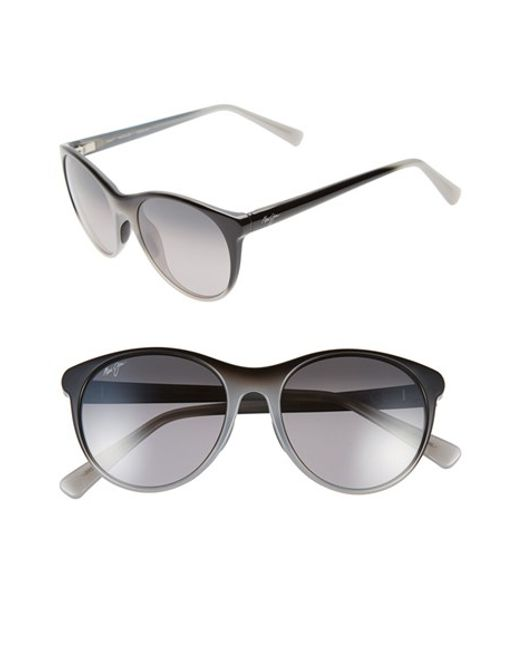 Maui Jim | Gray Mannikin 54mm Polarizedplus Cat Eye Sunglasses | Lyst