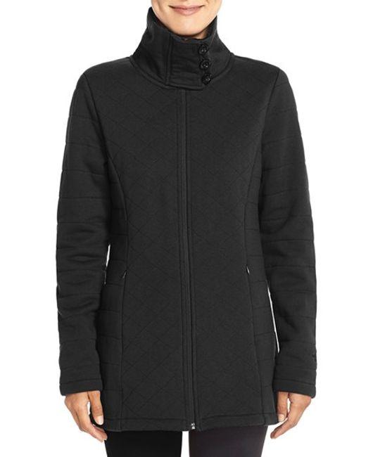 The North Face | Black 'caroluna' Fleece Jacket | Lyst