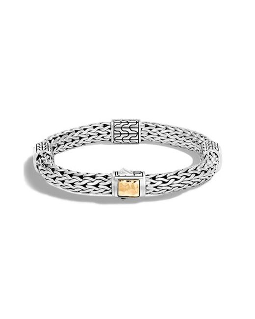 John Hardy | Metallic 'classic Chain' Station Medium Bracelet | Lyst
