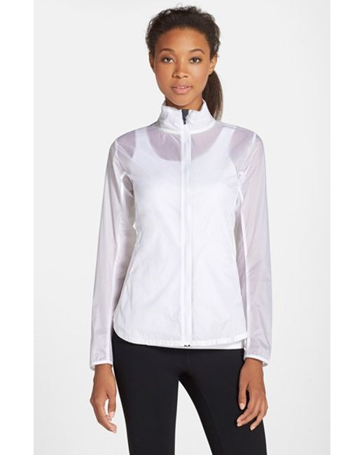 Brooks | White Water Resistant Ripstop Jacket | Lyst