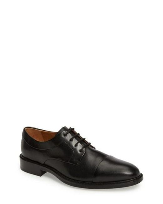 Cole Haan | Black 'warren' Cap Toe Derby for Men | Lyst