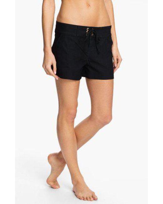 La Blanca - Black 'boardwalk' Shorts - Lyst