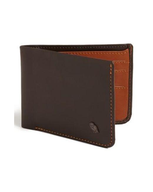 Bellroy   Brown 'hide And Seek' Wallet for Men   Lyst