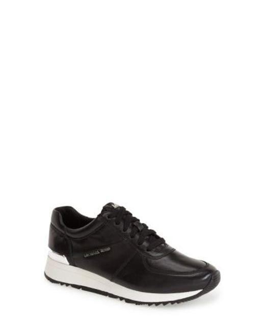 MICHAEL Michael Kors   Black 'allie' Sneaker   Lyst
