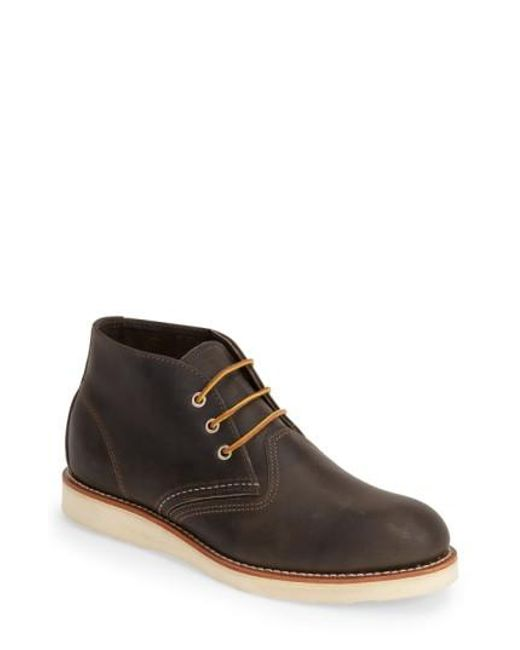 Red Wing | Gray Chukka Boot for Men | Lyst