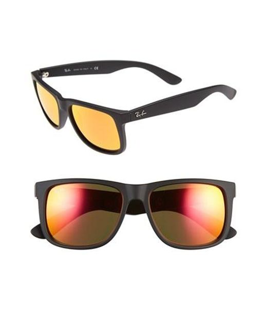 Ray-Ban | Brown 54mm Sunglasses for Men | Lyst