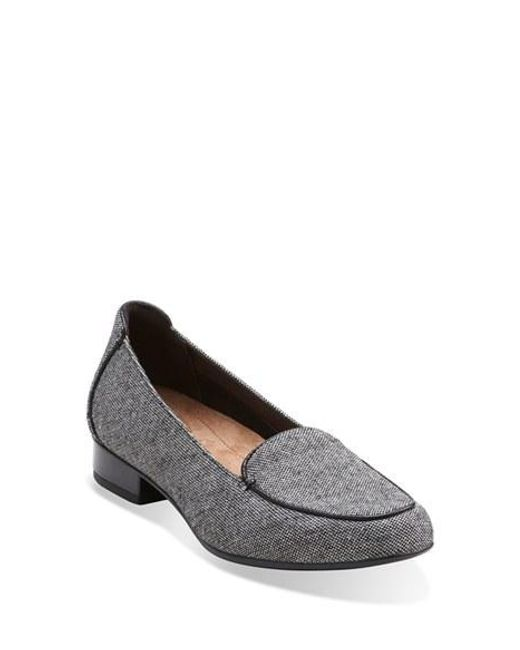 Clarks | Gray Clarks 'keesha Luca' Loafer | Lyst