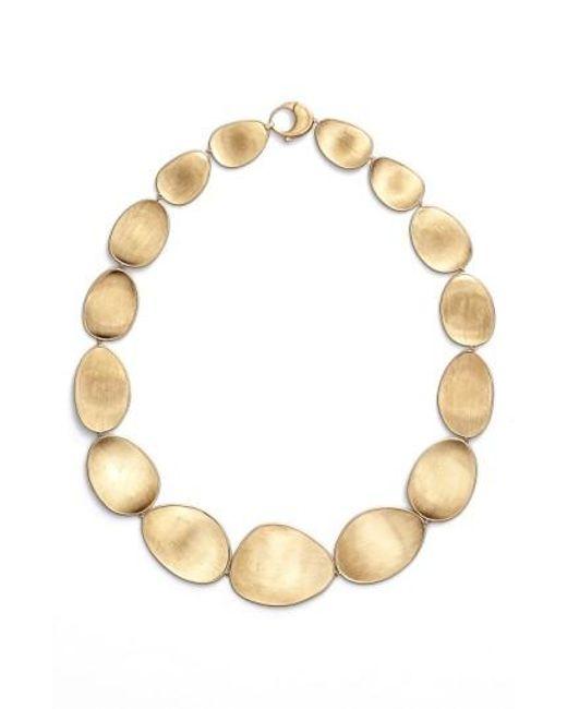 Marco Bicego   Metallic 'lunaria' Collar Necklace   Lyst