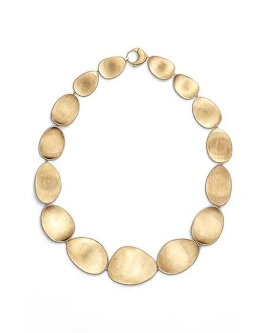 Marco Bicego | Metallic 'lunaria' Collar Necklace | Lyst