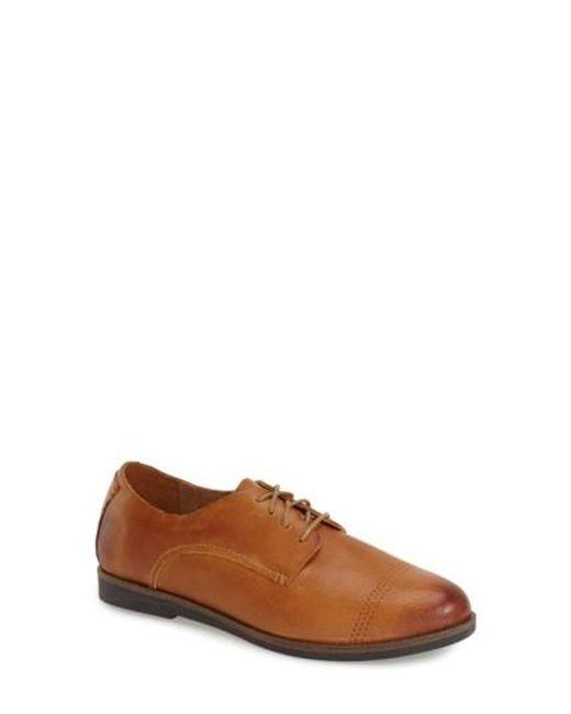 Olukai | Yellow Keawe Leather Derby Shoes | Lyst