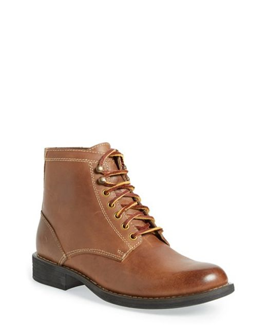 Eastland | Natural 'oakwood 1955' Plain Toe Boot for Men | Lyst