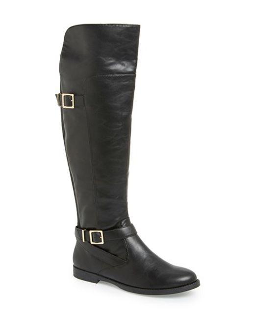 Bella Vita | Black 'romy' Over The Knee Boot | Lyst