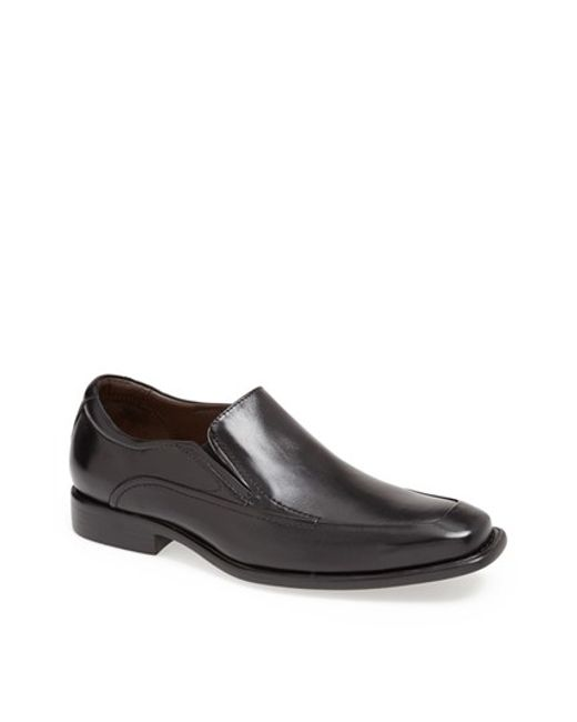 Johnston & Murphy | Black 'tilden' Venetian Slip-on for Men | Lyst