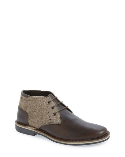 Steve Madden | Brown 'harken' Leather Chukka Boot for Men | Lyst