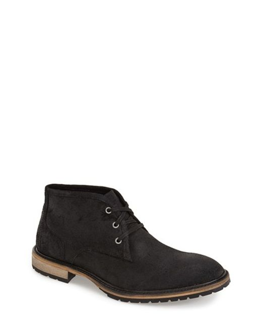 Andrew Marc | Black 'woodside' Chukka Boot for Men | Lyst
