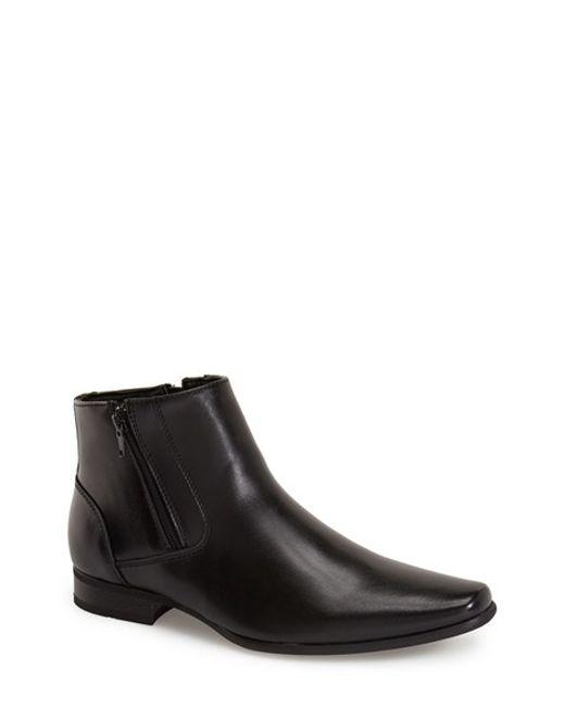 Calvin Klein | Black 'beck' Zip Boot for Men | Lyst