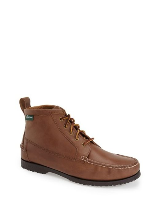 Eastland | Natural 'dylan 1955' Moc Toe Boot for Men | Lyst