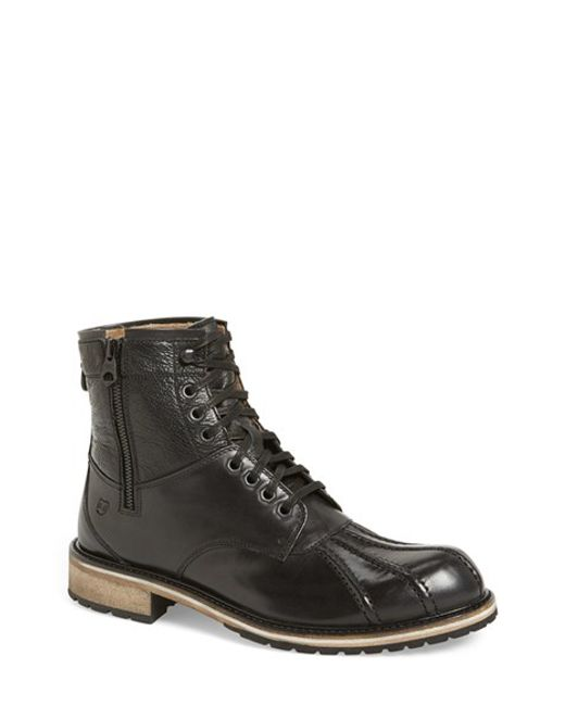 Andrew Marc | Black 'rutland' Boot for Men | Lyst