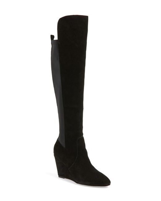 Charles by Charles David | Black 'Edie' Over The Knee Boot | Lyst