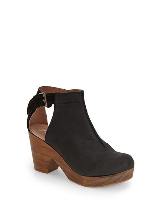 Free People   Brown 'Amber Orchard' Cutout Bootie   Lyst