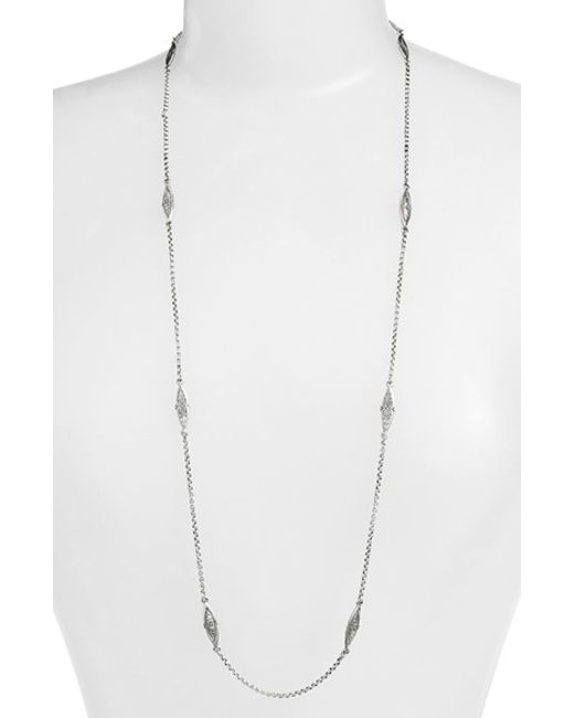 Konstantino | Metallic 'kerma' Station Necklace | Lyst