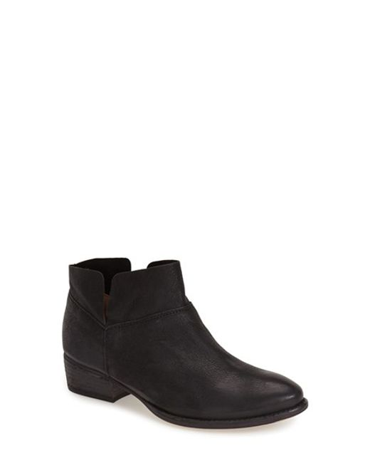 Seychelles | Black 'Snare' Bootie | Lyst