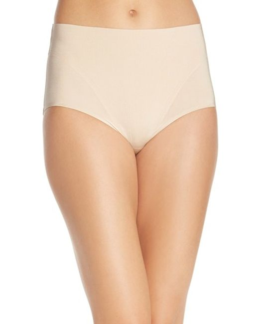 Spanx | Natural Spanx Retro Shaping Panty | Lyst