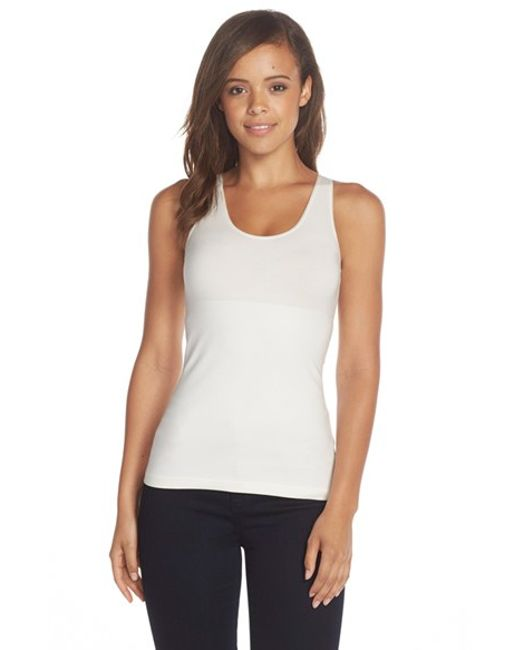Spanx   Natural Spanx In & Out Tank   Lyst