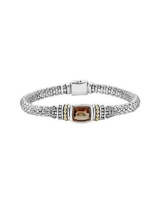 Lagos | Metallic 'caviar Color' Semiprecious Stone Bracelet | Lyst