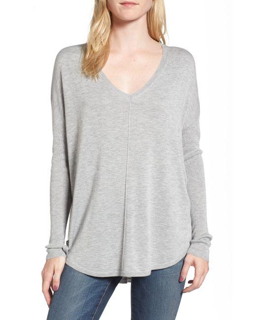 Trouvé - Black 'everyday' V-neck Sweater - Lyst