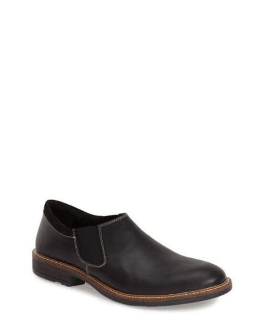 Naot | Black 'director' Venetian Slip-on for Men | Lyst