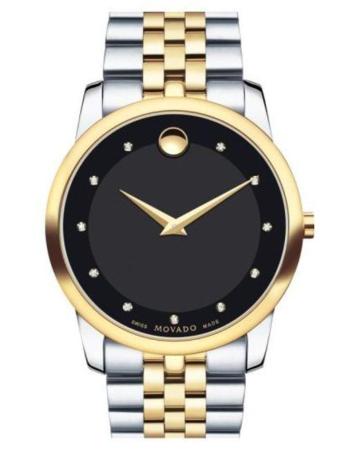 Movado | Metallic 'museum' Bracelet Watch for Men | Lyst